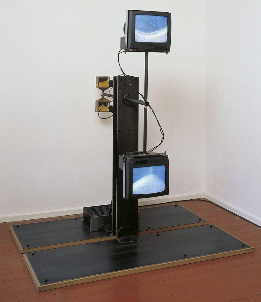 glasen, video sculpture,