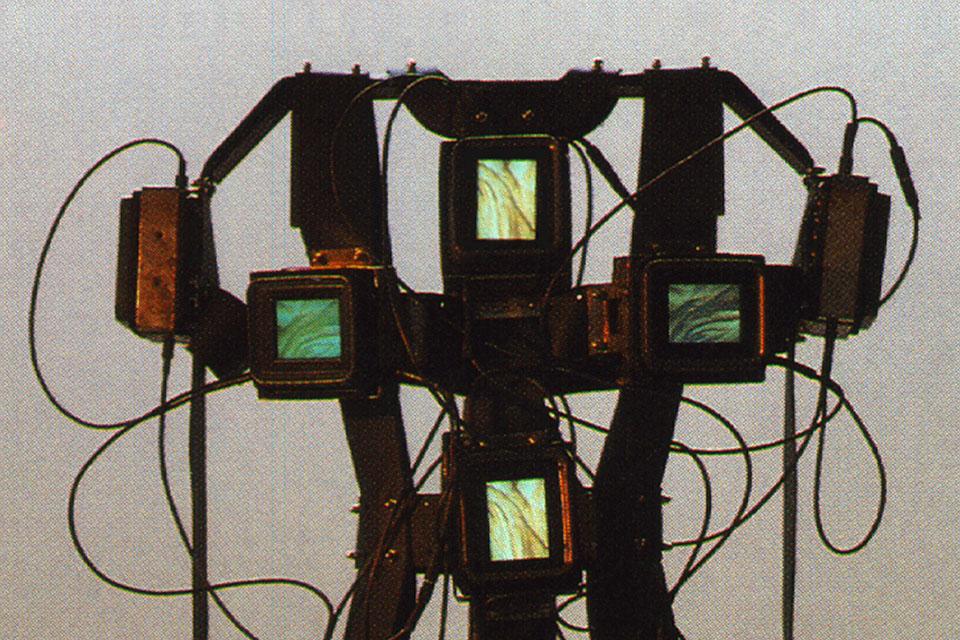 haeuten, video sculpture